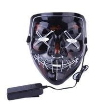 Неоновая маска Судная ночь оптом