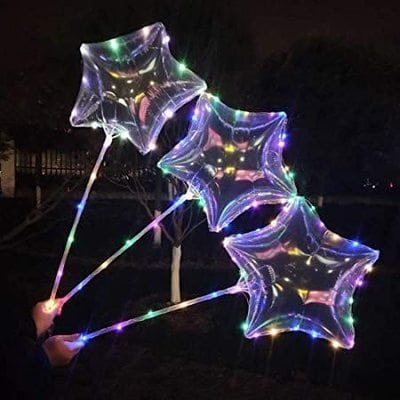 Светящиеся шары Бобо (Bobo) оптом (Звезда)