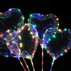 Светящиеся шары Бобо (Bobo) оптом (Сердце)