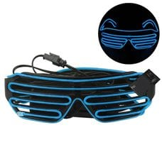 Неоновые led очки оптом