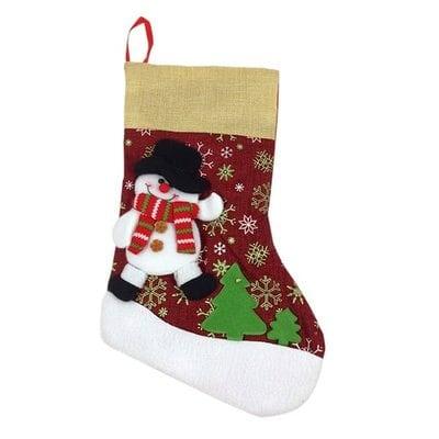Новогодние носки для подарков оптом